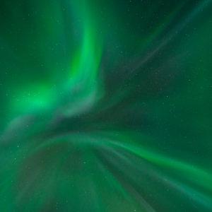 Noorderlicht boven IJsland. Fotograaf: Toine Westen.