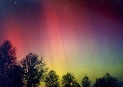 Noorderlicht boven De Bilt op 13 maart 1989, Casper ter Kuile, De Bilt